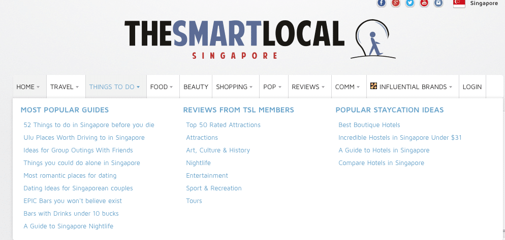 Learning More About Singapore Through TheSmartLocal