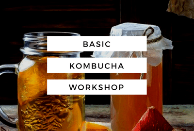 kombucha workshop