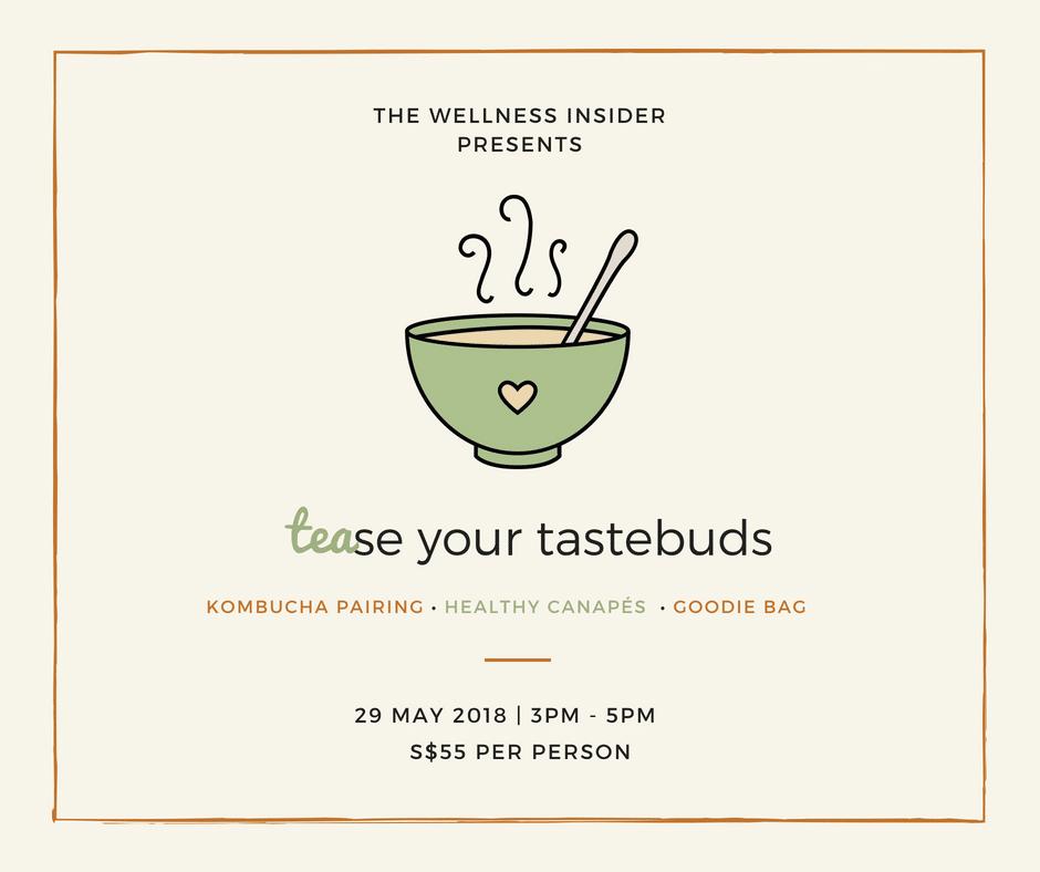 TEAse Your Tastebuds – Kombucha Pairing