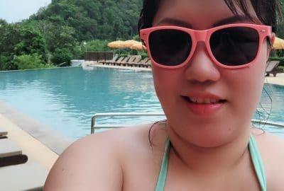 Krabi hotel pool