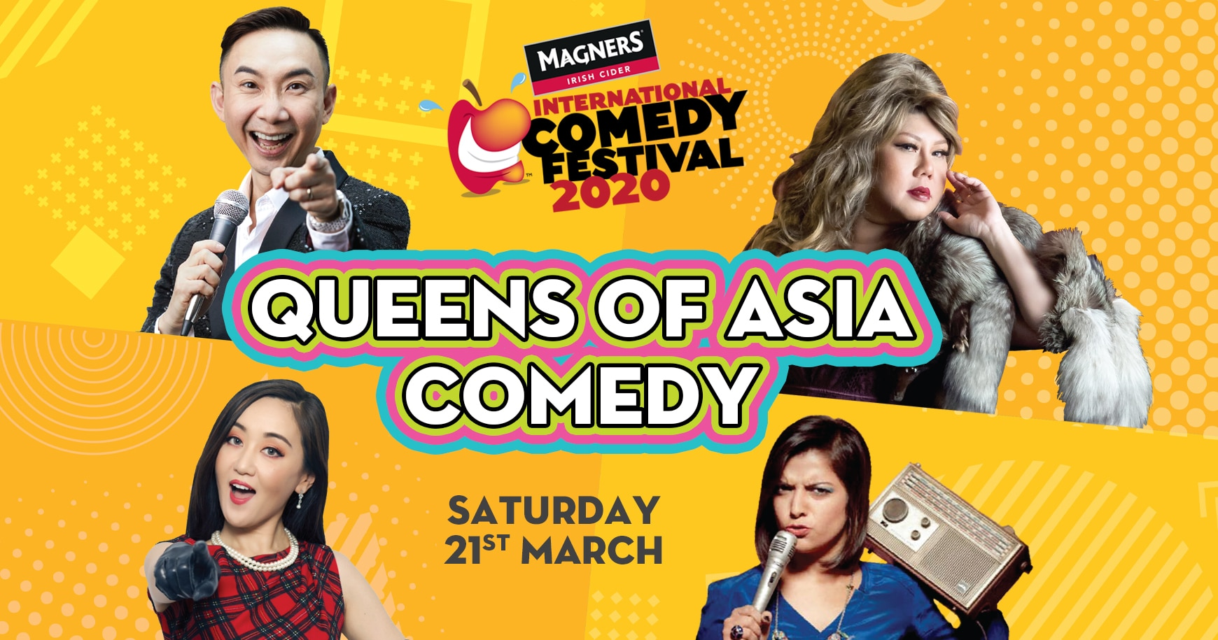 Queens of Asia Comedy 2020