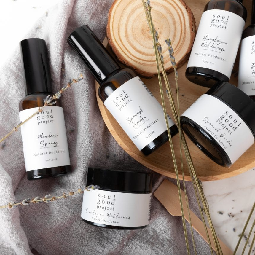 Going au naturel with soul good project