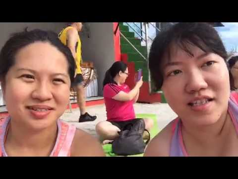 """Fitness Journey – Day 22 (Yoga by the """"beach"""")"""